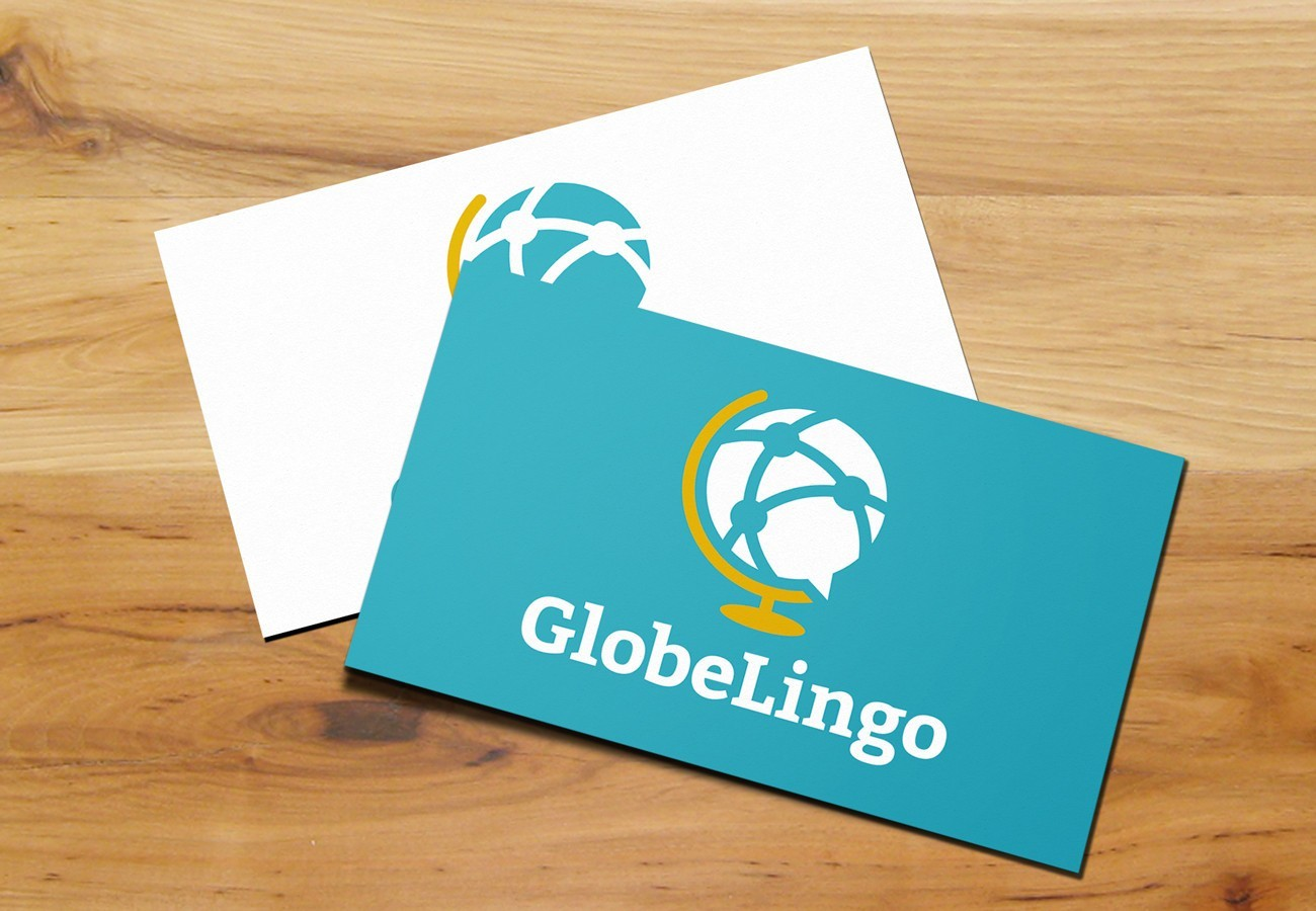 GlobeLingo Cards, designed by Query Creative in the Hudson Valley