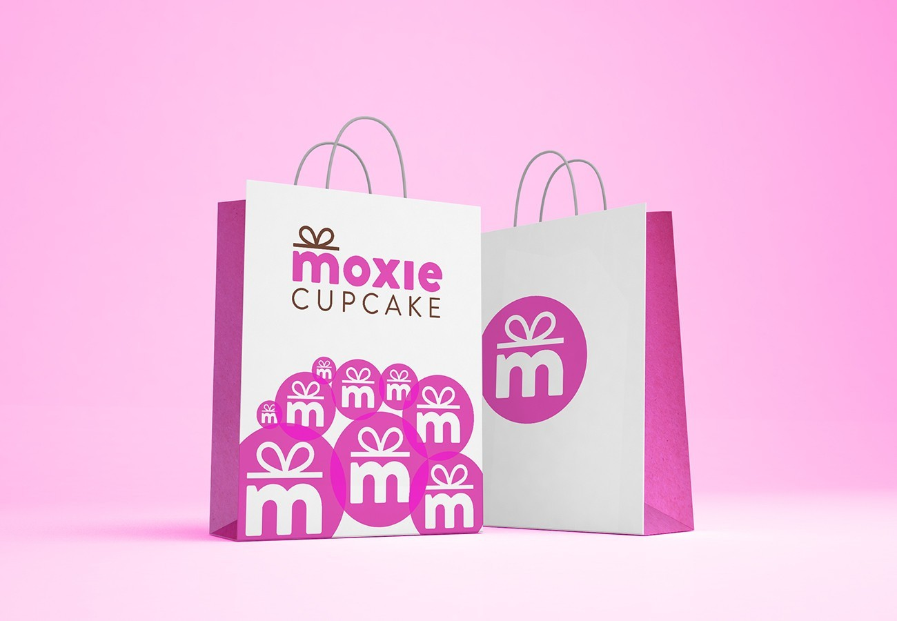 Moxie Cupcake Bag, designed by Query Creative in the Hudson Valley
