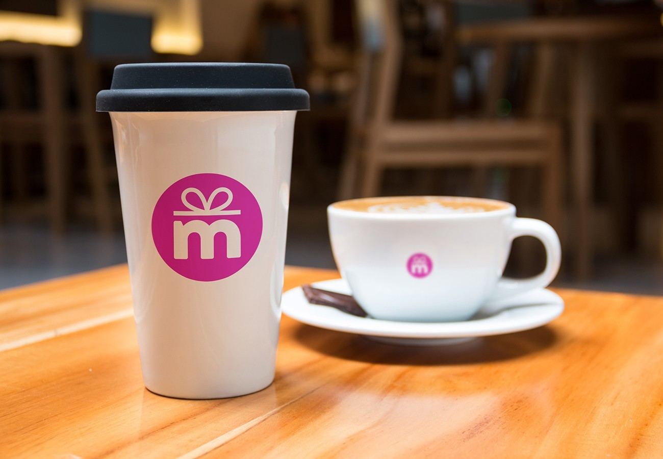Moxie Cupcake Cup and Mug, designed by Query Creative in the Hudson Valley