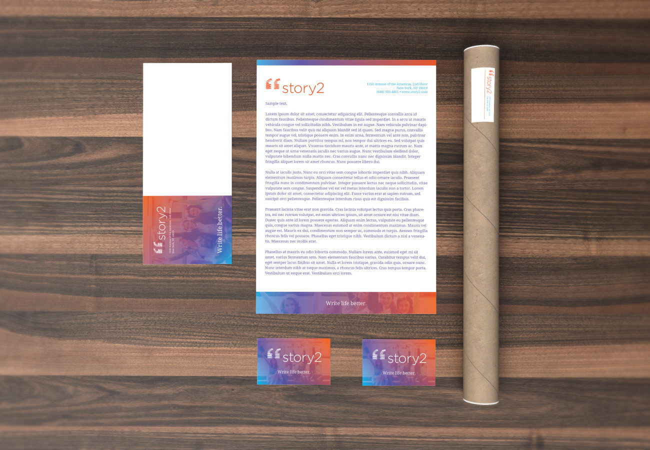 Story2 Stationery, designed by Query Creative in the Hudson Valley