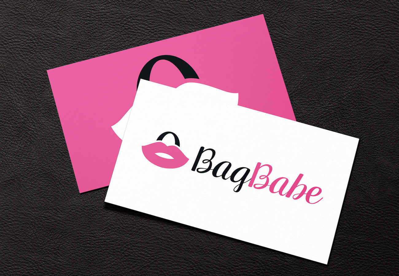 BagBabe Business Cards, designed by Query Creative in the Hudson Valley