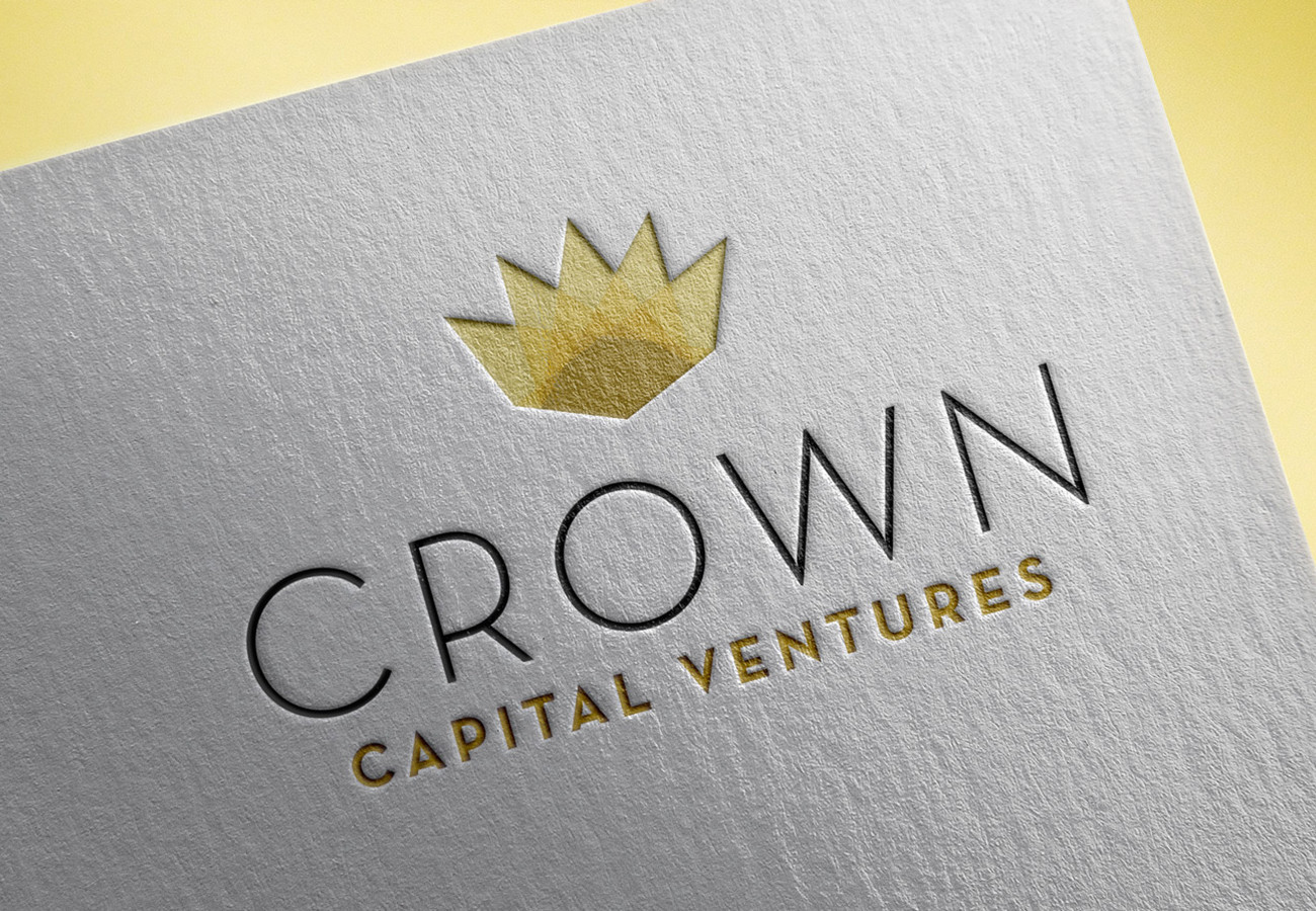 Crown Capital Ventures Card, designed by Query Creative in the Hudson Valley