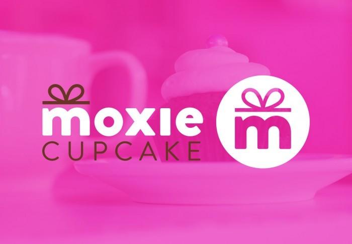Moxie Cupcake Logo