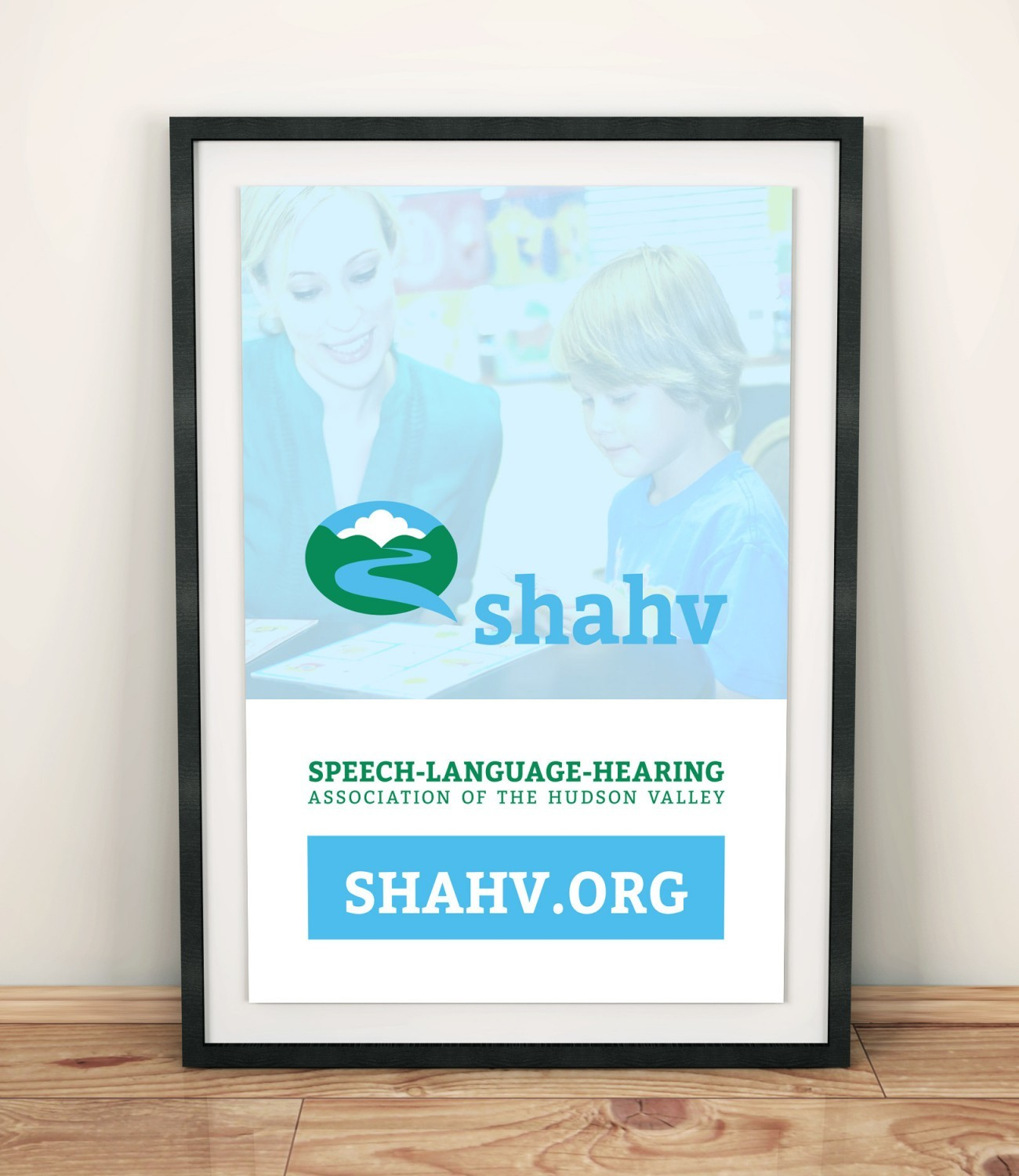 SHAHV Poster, designed by Query Creative in the Hudson Valley