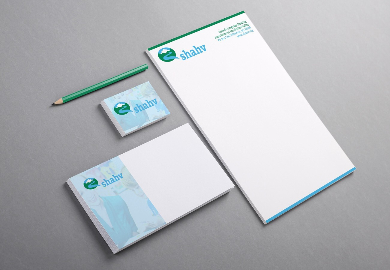 SHAHV Stationery, designed by Query Creative in the Hudson Valley