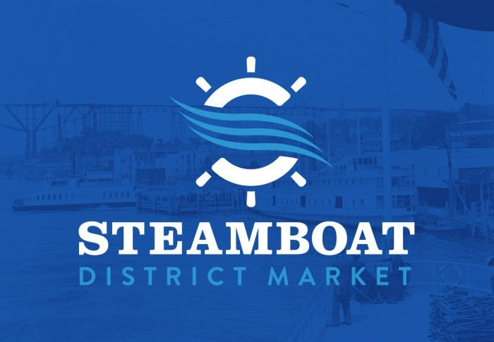 Steamboat District Market Logo