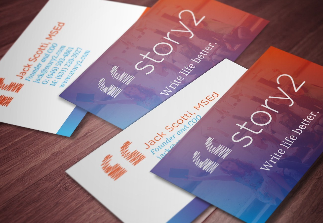 Story2 Cards, designed by Query Creative in the Hudson Valley