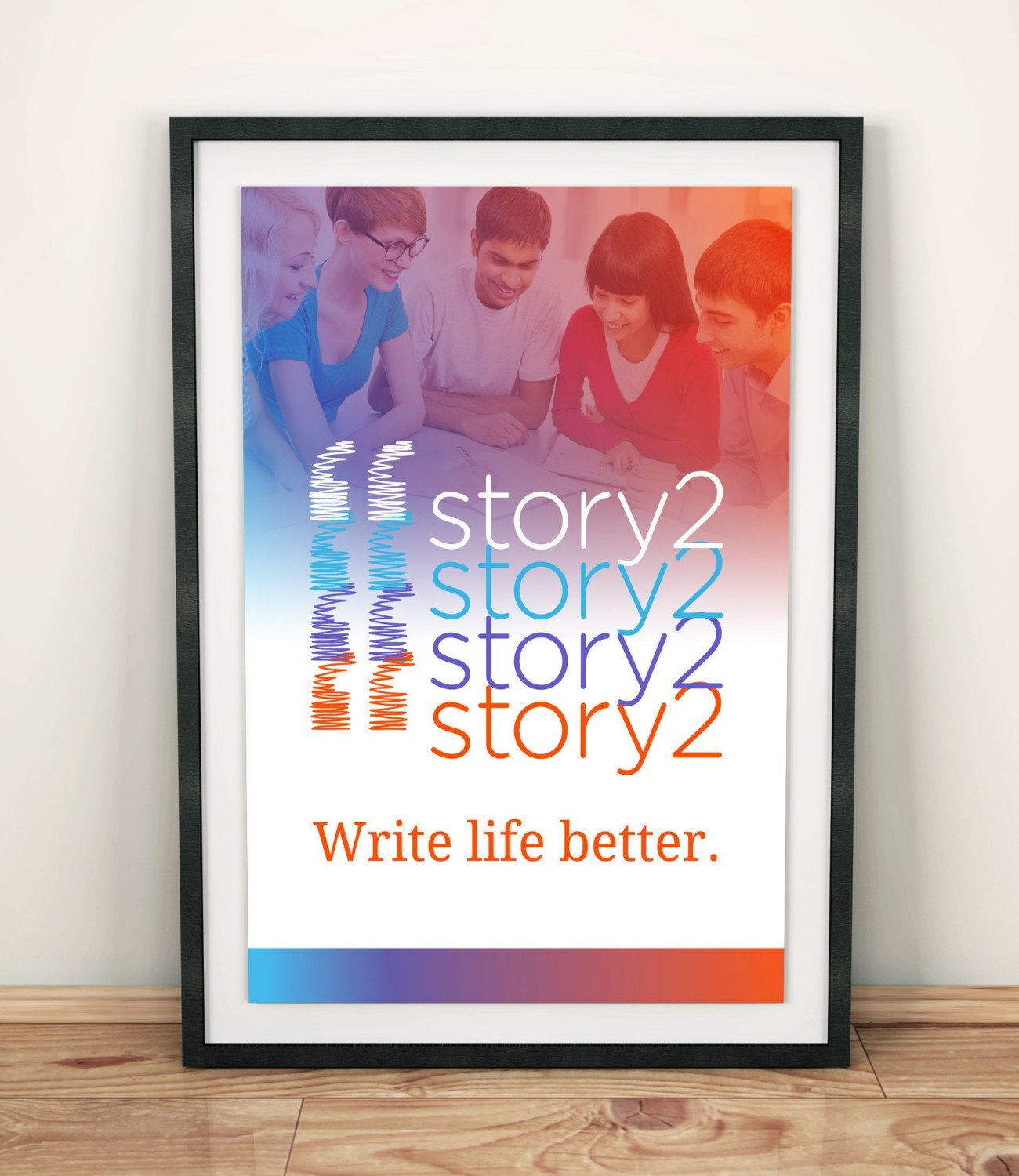 Story2 Poster, designed by Query Creative in the Hudson Valley